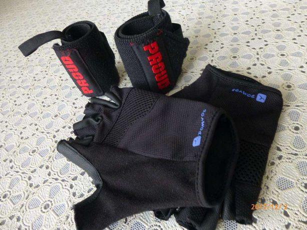 Zestaw CROSSFIT – usztywniacze i rękawiczki.