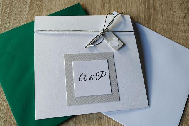 Zaproszenia/zaproszenie ślubne