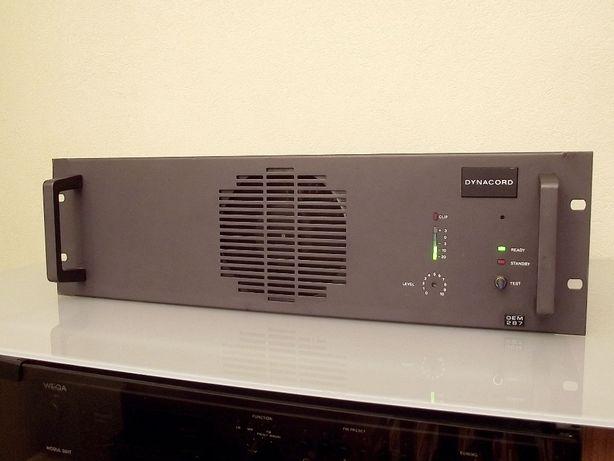 Końcówka mocy DYNACORD DEM287 - 100V,70V,50V - Okazja!