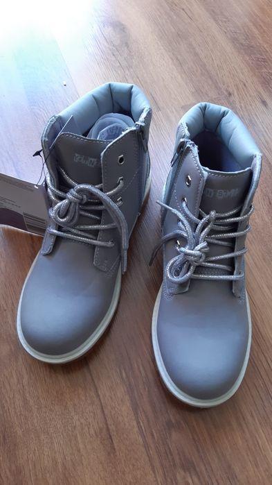 Buty dziewczęce,  roz. 34/35, wkł. 22,5cm Mrzeżyno - image 1