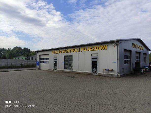 Sprzedam Stacje Kontroli Pojazdów i Myjnie Samochodową