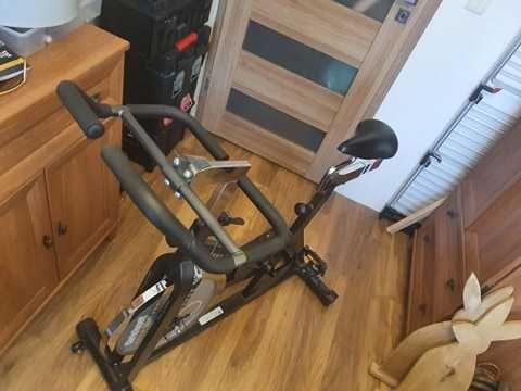 Rower spinningowy stacjonarny używany w dobrym stanie Christopeit