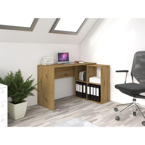Nowość - BORE- biurko narożne z regałem /bezpłatny transport