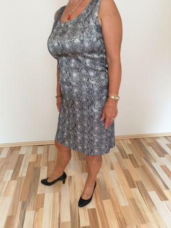 Sukienka z motywem węża, rozmiar 38