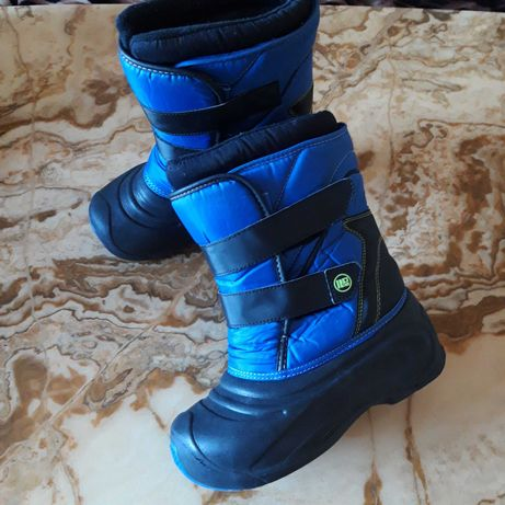 OUTODOR gore tex детские брендовые зимние сапоги 35р. ботинки
