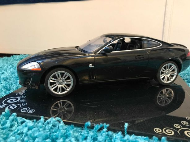 #13 Машинка Jaguar, большая, детский мир, поворачиваются колеса