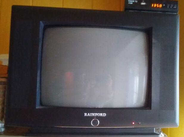 Телевизор Rainford TV-3797 + Тюнер T2 Tiger T2 IPTV