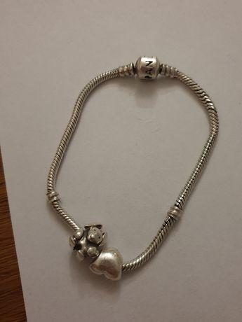 Pandora bransoletka z charmsami
