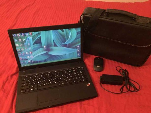 ноутбук как новый мощный игровой 4х ядерный Lenovo IdeaPad G505