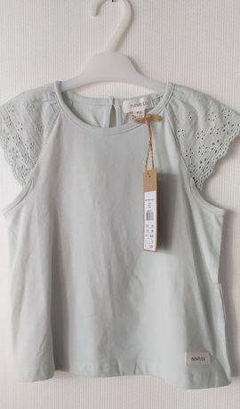 Bluzka koszulka letnia dla dziewczynki r.92 newbie KappAhl