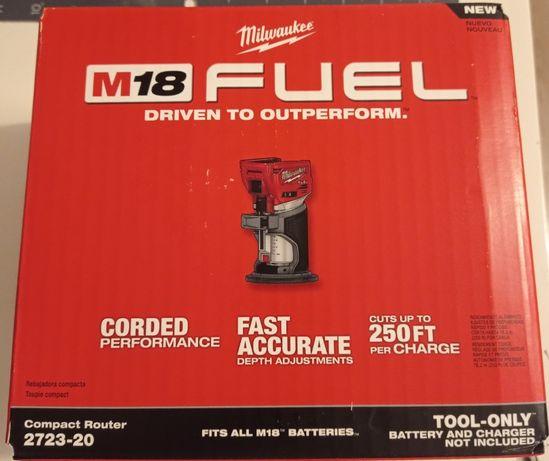 Milwaukee M18 frezarka górnowrzecionowa M18 FTR