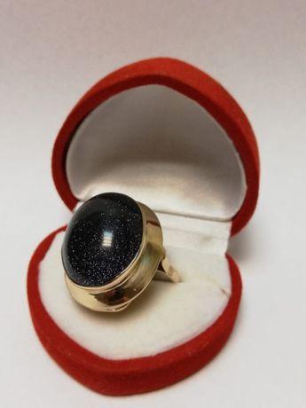 Złoty pierścionek Noc Kairu efektowny pr.585/9,7g/r20 Lombard Zeus