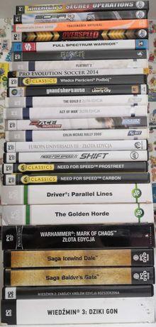 Zestaw 37 gier na PC (GTA NFS) - możliwość zakupu pojedynczych tytułów