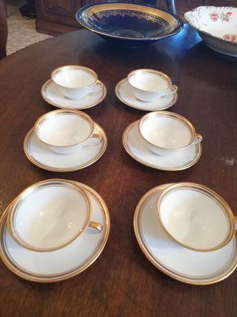 Filiżanki espresso 6 sztuk Weimar. Porcelana