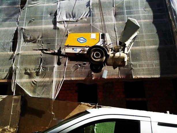 Aluguer de máquinas para betonilhas com compressor incorporado Cuba XL
