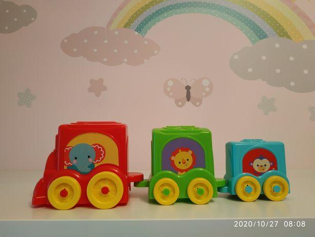 Zabawka pociąg Fischer Price dla maluszka