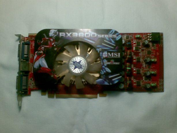 Продам видеокарту MSI RX3850-T2D512E б/у