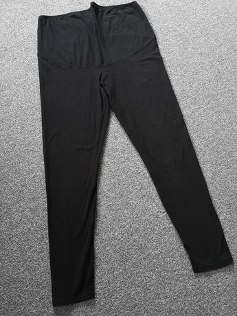 Czarne legginsy ciążowe H&M MAMA XL