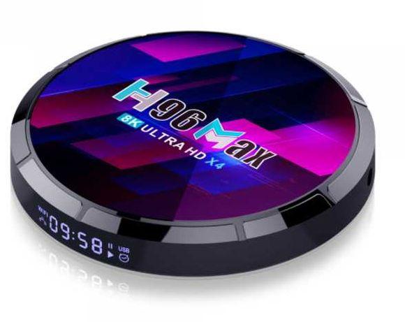 Box Android Nova - NOVO MODELO X4 - H96 Max - 4GB 64GB ROM