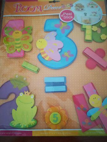 Decoraçao 3D para quarto criança