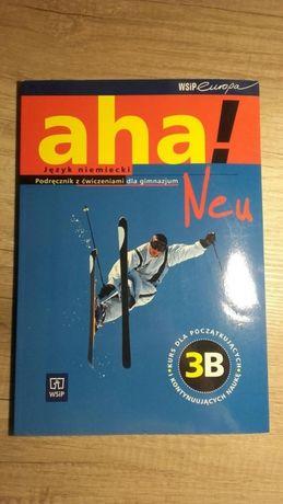 Książka do języka niemieckiego aha neu 3B