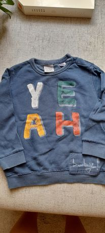 Zara bluza dresowa R.80