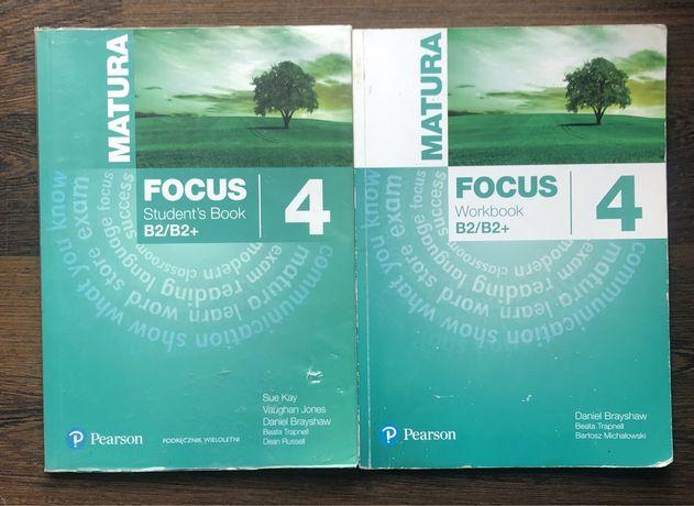 Matura Focus 4 podręcznik i ćwiczenia