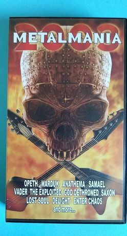 Metalmania - 2004 rok , kaseta VIDEO VHS