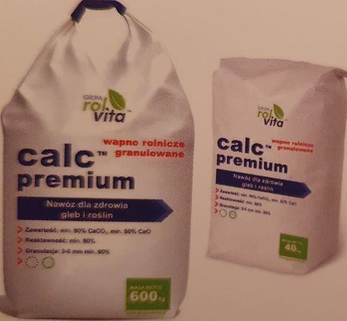 Wapno big bag  90%CaCO3, reaktywność 98%