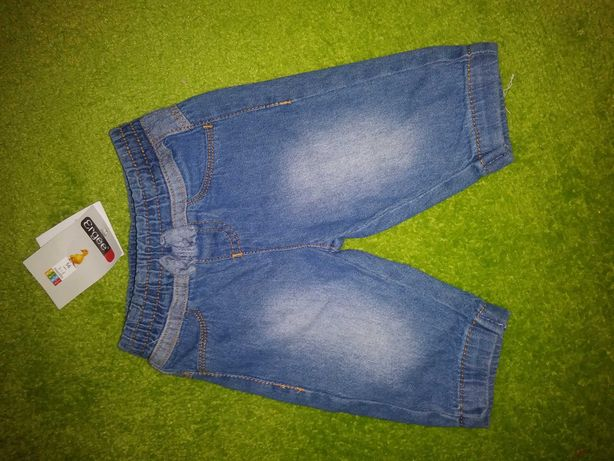 Spodnie jeans r. 56 dla dziewczynki