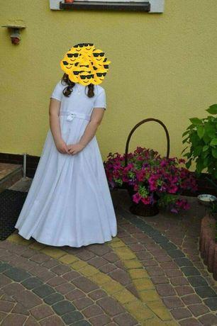 Sprzedam sukienkę do komunii z bolerkiem.