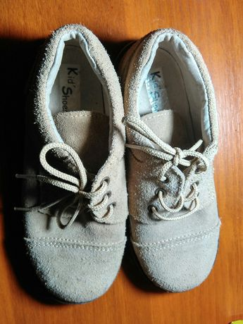 Дитяче взуття туфлі розмір 30 натуральний замш