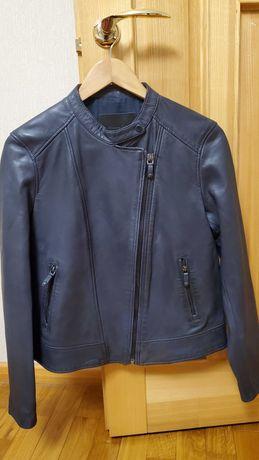 Massimo Dutti женская куртка кожаная продам