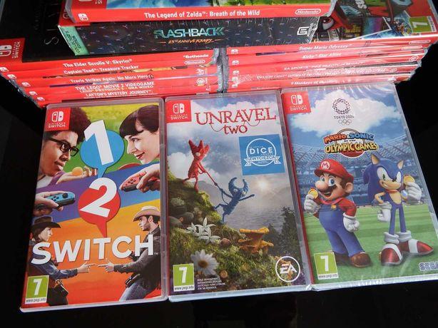 GRY Nintendo Switch DUŻY WYBÓR MARIO Kirby ZELDA Skyrim