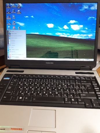 Ноутбук TOSHIBA Satellite А100-811 в хорошем состоянии