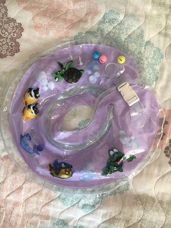 Коло для плавання немовлят Дельфін