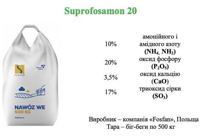 Мінеральне добриво Супрофосамон