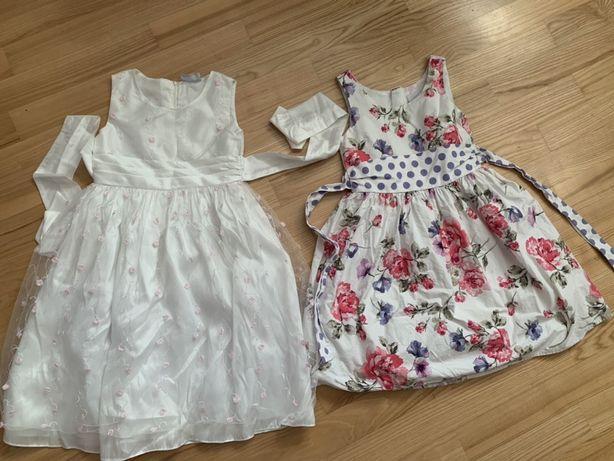 Нарядное платье H&M 6-7 лет