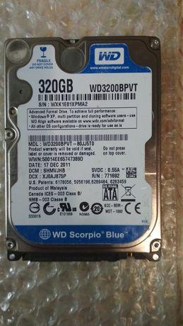 Жёсткий диск 2,5 Western Digital WD3200BPVT