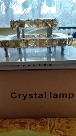 Sprzedam kryształową lampę ledową.