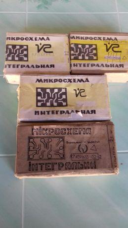Микросхемы разные ссср