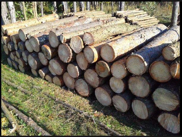 Drewno opałowe, kominkowe, sosna, opał, papierówka - 90 zł/mp