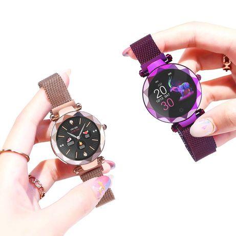 Женские уникальные смарт часы HI 18 smart watch
