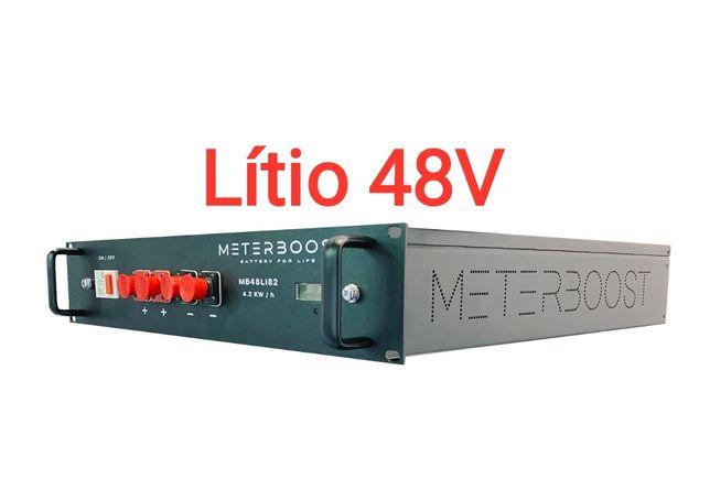 Bateria de Lítio 48V 4200W 3300W 2400W 1800W
