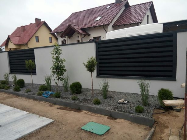 Ogrodzenia nowoczesne wiaty