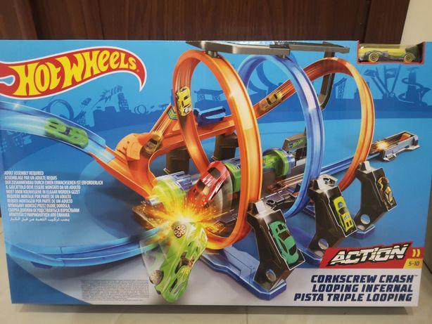 Nowy Tor Hot Wheels Pętle Grozy do wyboru
