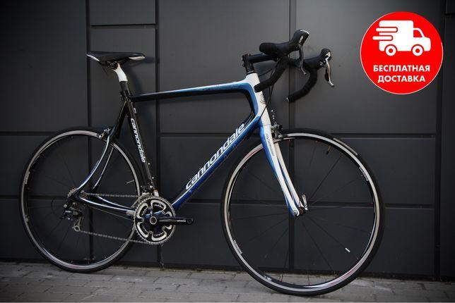 Шоссейный карбоновый велосипед  Cannondale Synapse trek scott bianchi