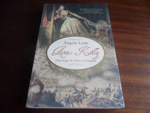 """""""Ana Kelly"""" Uma Saga de Amor e Coragem de Ângela Leite"""