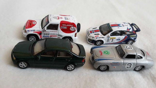 1:72 BMW, Mercedes, Ford, Mitsubishi, Hongwell Cararama.