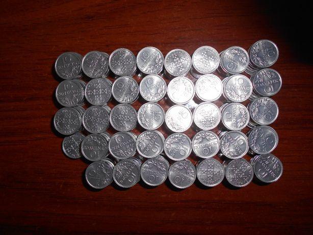 826 Moedas de 10 centavos dos anos de 1978 e 1979 por circular (Belas)